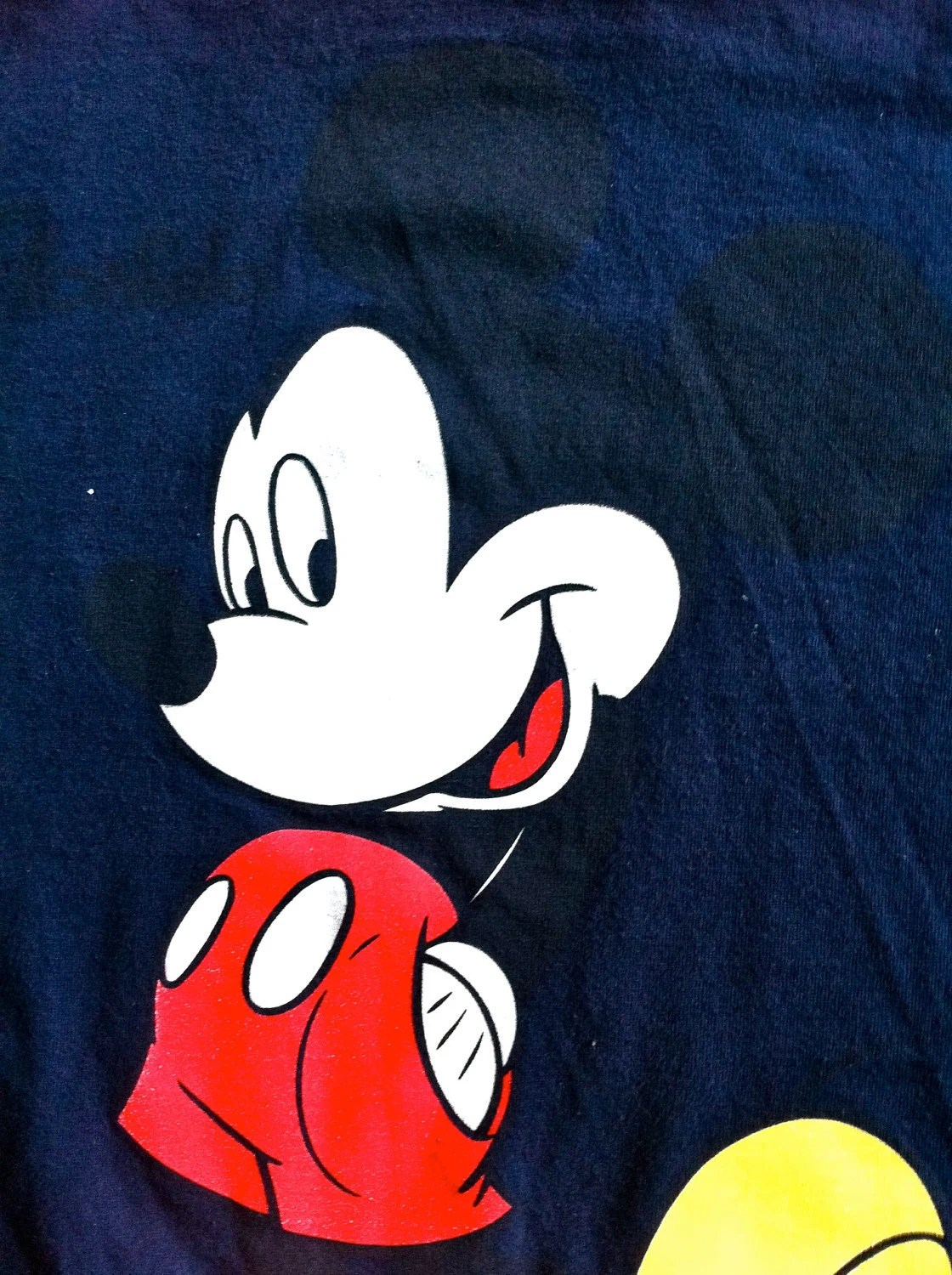 HOLIDAY SPECIAL- Upcycled Tee Onesie: Mickey Mouse