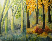 Four Seasons-fall winter spring summer Cascade Foothills Series