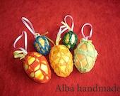 Decorative Easter Eggs 5 pieces