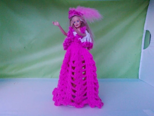 New Handmade  BARBIE DOLL CLOTHES  Evening wear designed and made by nannycheryl  810x 81