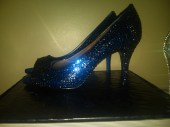 Something Blue Swarovski Crystal Shoe - Blingedoutbliss