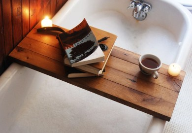 How To Make Your Own Diy Bathtub Tray Making It In The