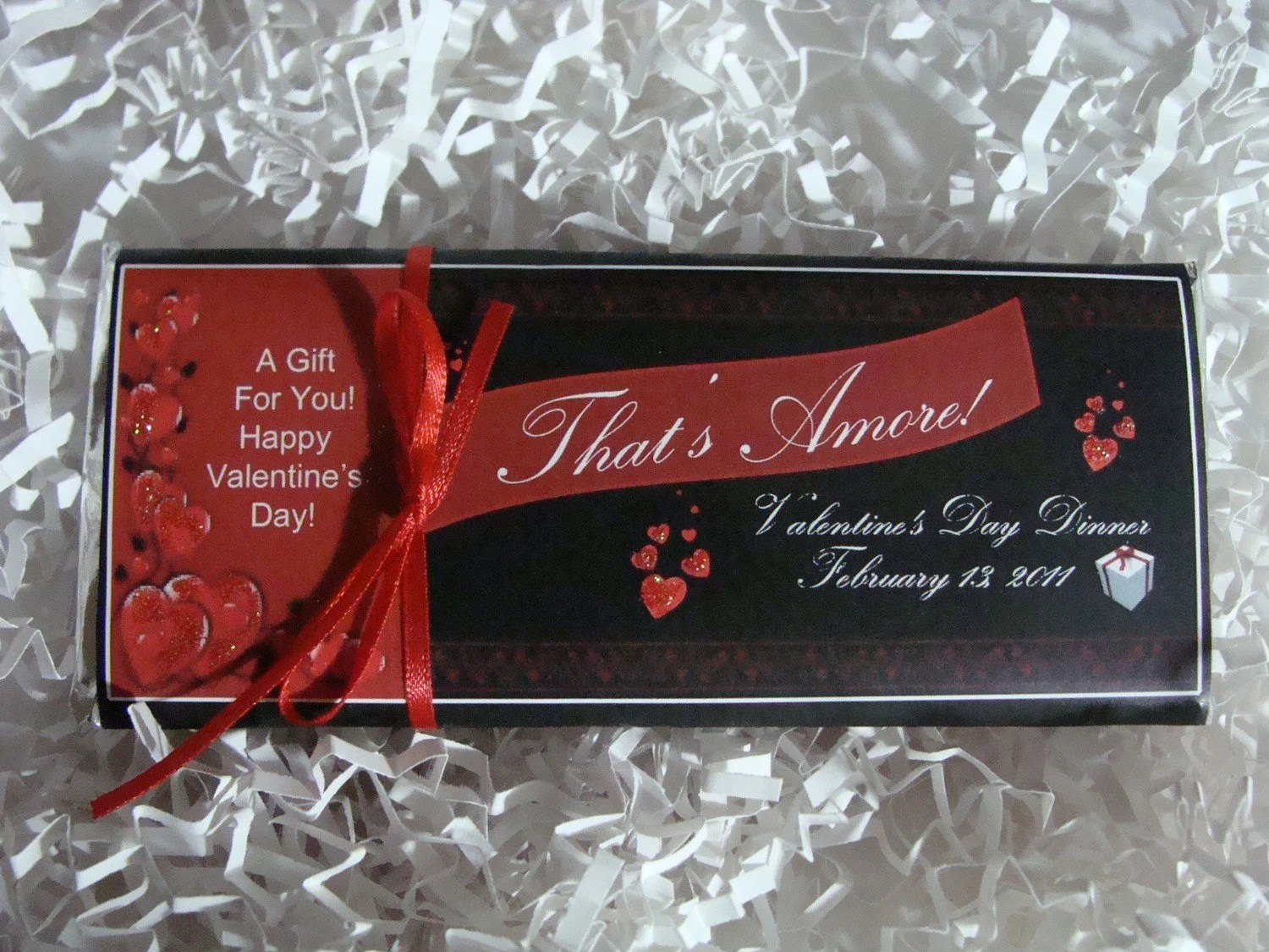Personalized Candy Bar - Valentine's Day Design of Your Choice