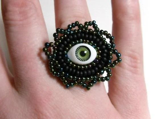 Evil Eye Ring - $8.95