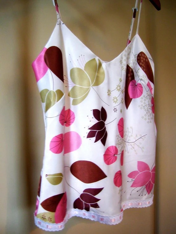 Flirty Flowered Camisole