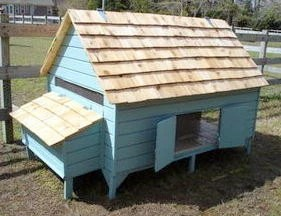 Chicken Coop Plans Easy DIY Backyard Barnyard Poultry Duck PDF - House up to 12 Hens in Style