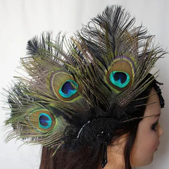Sass and Sequins burlesque headdress