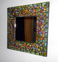 Mosaic tile mirror by TaylorGlassWorks on Etsy ...