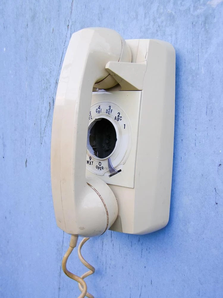 Vintage Wall Phone Upcycled into a Bird House - Recycled and Repurposed