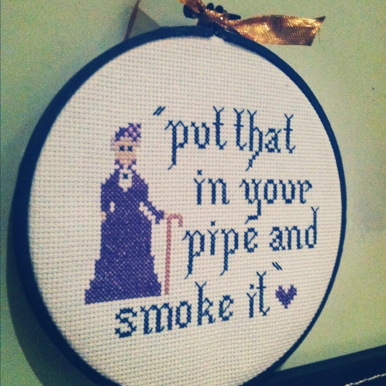 dowager cross stitch pattern