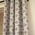 Walmart com mainstays chino grommets curtain panel decor