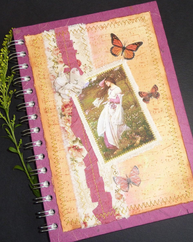 """Journal/Sketchbook """"Down in the Meadow"""""""
