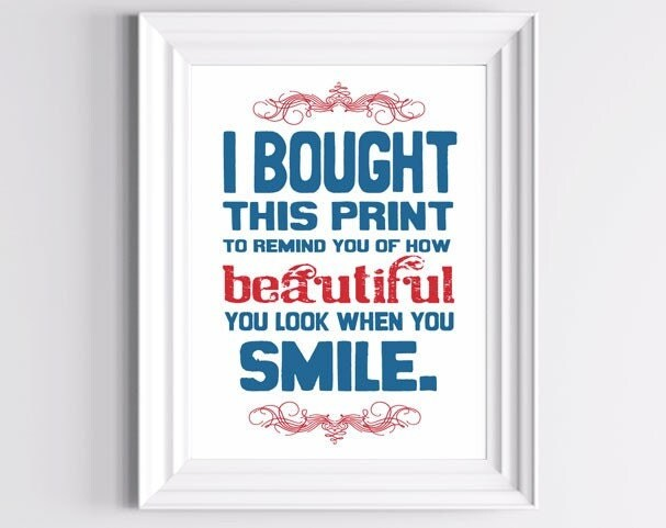 Cheer Up Smile Poster - The Wallaroo