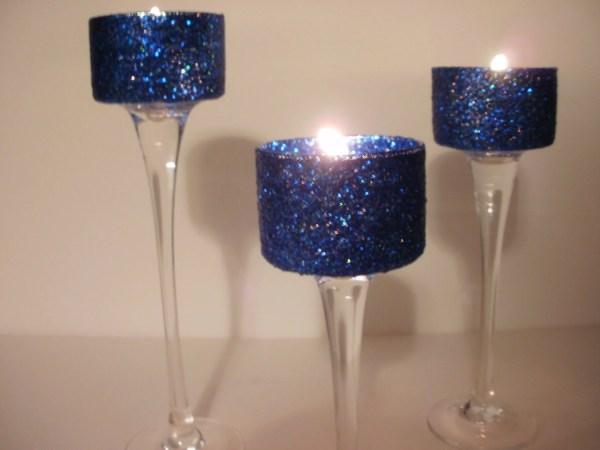 best wedding ideas Lovely Navy Blue Wedding Centerpieces