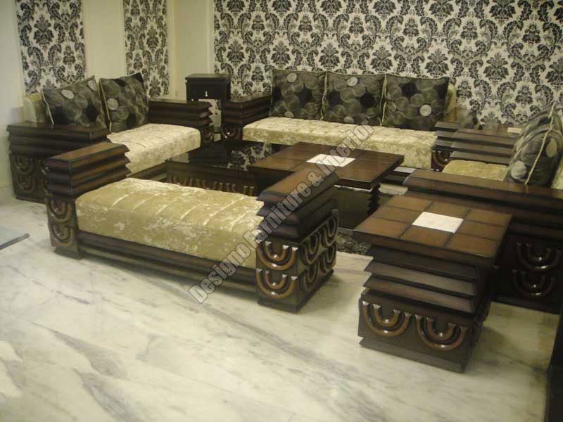 sofa sets in india designs west elm rochester sleeper reviews buy nine seater set from designo furniture & interior ...