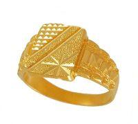 Mens Gold Rings Manufacturer in delhi Delhi India by Shri ...