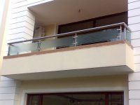 Buy stainless steel glass railing from Aay Emm Creations ...