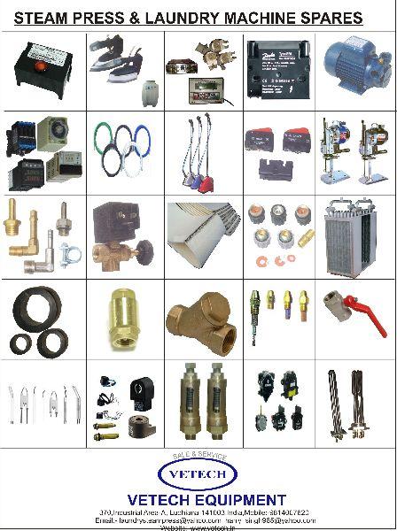 Laundry Machine Spare Parts 02