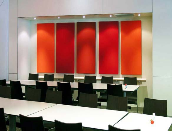 Buy Fabric acoustic wall panels from Total Acoustic