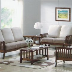Sofa Set Design For Living Room In India Trellis Rug Buy Wooden From Induscraft Id 730185 Inss10