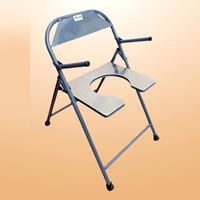 folding chair in rajkot office that reclines for naps commode manufacturers and suppliers india