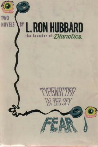 book cover of Typewriter in the Sky / Fear by L Ron Hubbard