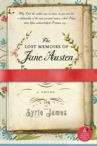 book cover of   The Lost Memoirs of Jane Austen   by  Syrie James