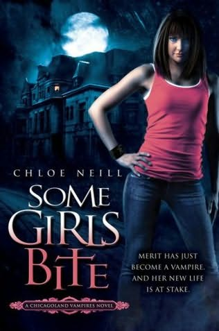 book cover of   Some Girls Bite    (Chicagoland Vampires, book 1)  by  Chloe Neill