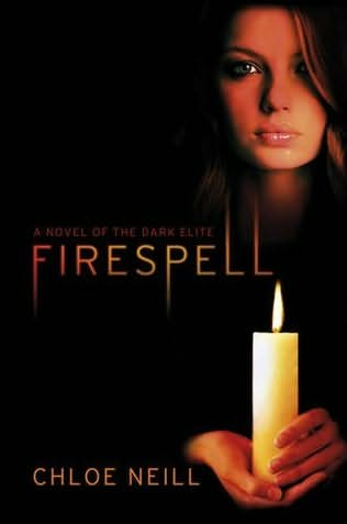 book cover of   Firespell    (Dark Elite, book 1)  by  Chloe Neill