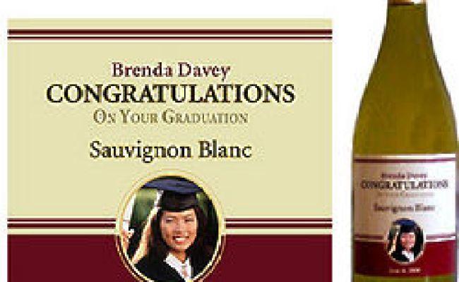 Personalized Graduation Wine Bottle Label Findgift