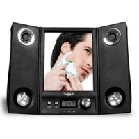 Fogless Shower Mirror with Wireless Music Transmitter ...