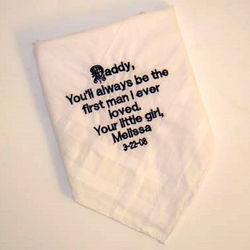 """Download """"Daddy...First Man I Ever Loved"""" Personalized Handkerchief ..."""