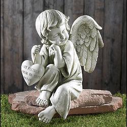 Memorial Garden Angel Figurine FindGift Com