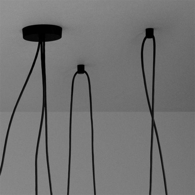 Flos Aim hanglamp set LED zwart  FLINDERS verzendt gratis