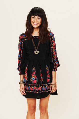 Age Of Aquarius Print Dress Free People Clothing Boutique
