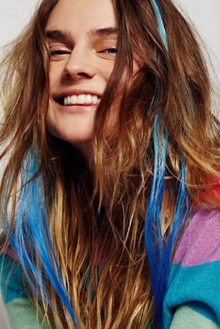 dip dye hair extension free