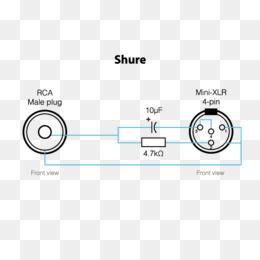 Micrófono, Conector Xlr, Diagrama De Cableado imagen png