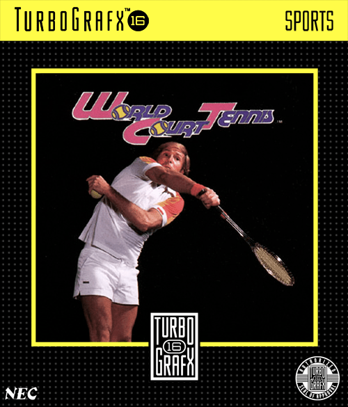 Image result for turbografx 16 world court tennis