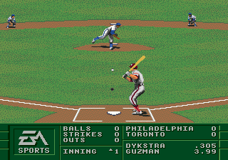 Play La Russa Baseball 95 Sega Genesis Online Play Retro