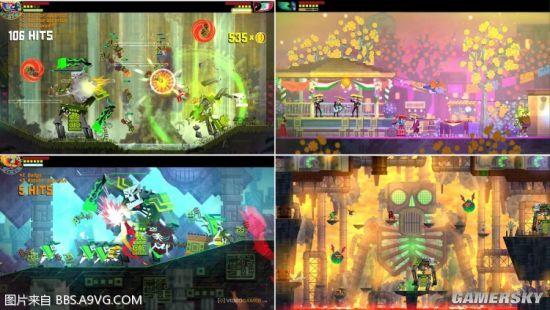 PS4本地雙人/多人游戲推薦 同屏/分屏游戲清單_墨西哥英雄-游民星空 GamerSky.com