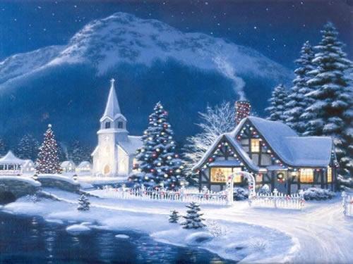 Weihnachtslandschaft Bilder  Weihnachtslandschaft GB Pics
