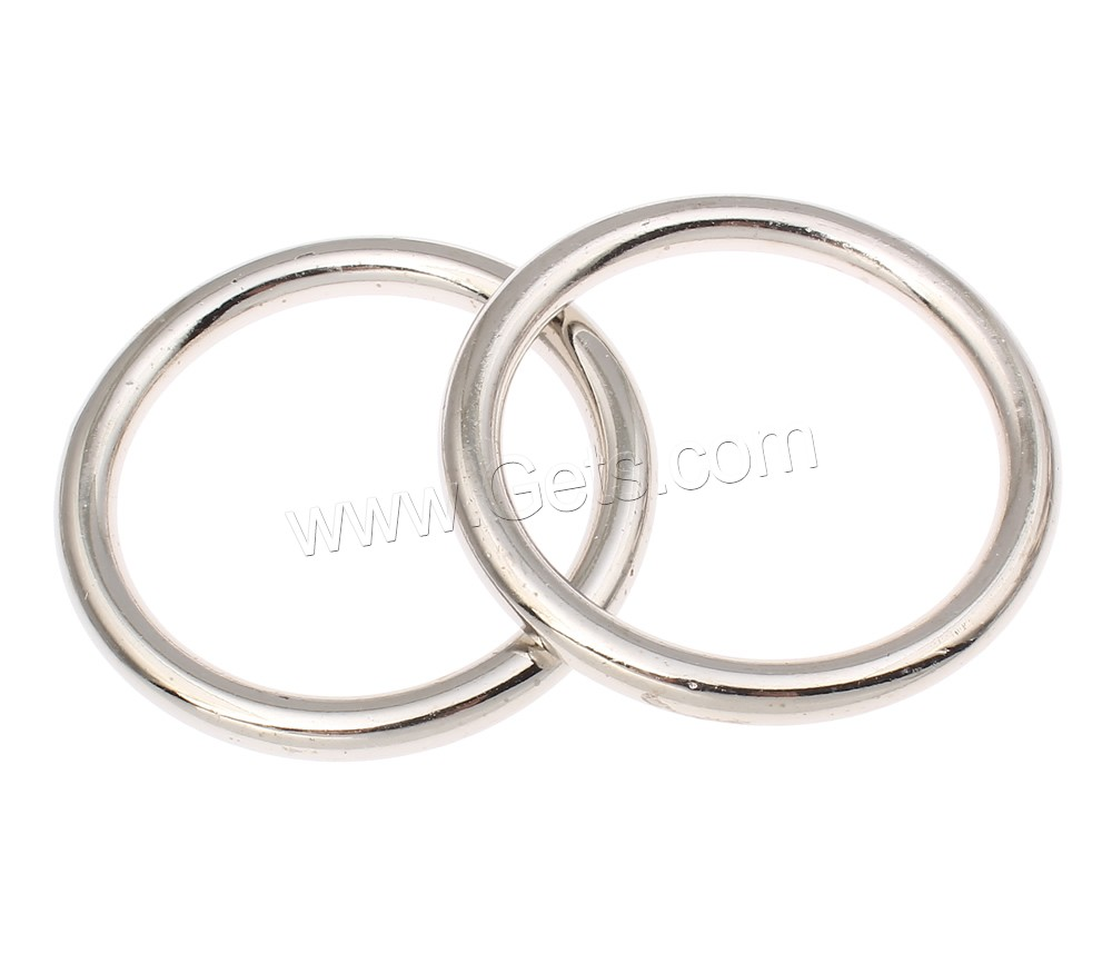 CCB Plastic Linking Ring Copper Coated Plastic Donut