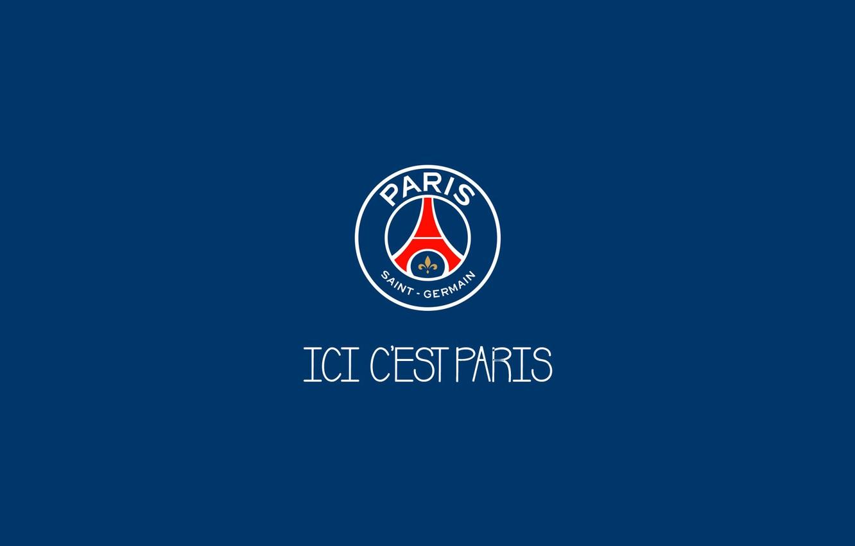 wallpaper logo minimalism soccer psg