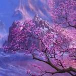Wallpaper Nature Colors Sky Mountain Tree Magnolia Images For Desktop Section Zhivopis Download
