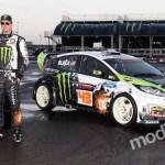 Wallpaper Ford Rally Fiesta Ken Block Monster Energy Gymkhana Images For Desktop Section Sport Download