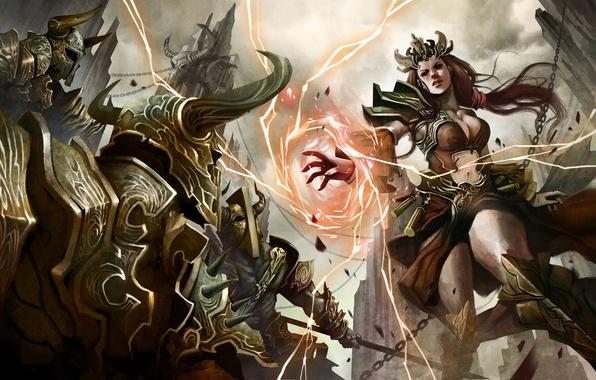 Diablo 3 Wallpaper Iphone 4s Обои Diablo 3 Wizard Чародейка Diablo Iii Reaper Of
