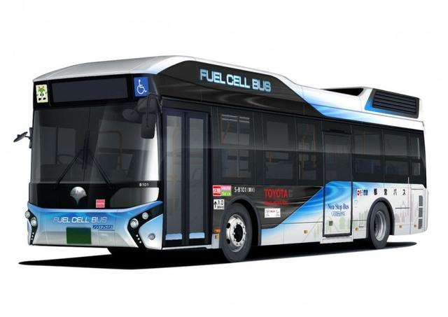 豐田向東京交通局交付首款燃料電池巴士_汽車_騰訊網