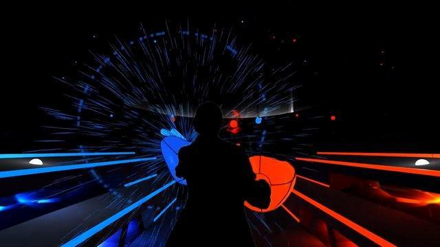 VR音樂游戲《Audioshield》演示影像公開_動漫_騰訊網
