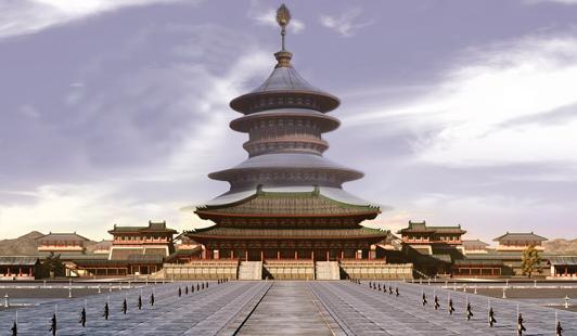 武則天皇宮正殿明堂重建開放 洛陽城再現唐宮盛景 _文化_騰訊網