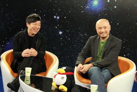 《泰囧》主創做客 徐崢黃渤最感謝觀眾口口相傳_娛樂_騰訊網